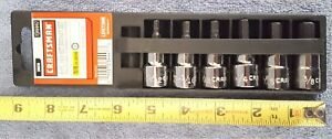 New Craftsman 3 8 Drive 6 Pc Allen Hex Bit Socket Set Inch 9 34447