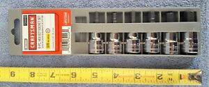 New Craftsman 3 8 Drive 6 Pc Allen Hex Bit Socket Set Metric 9 34448