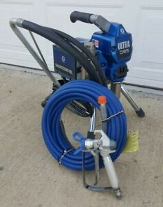 Graco Ultra 395 Electric Airless Paint Sprayer 490 495 595