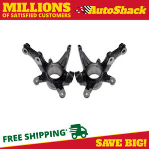 Front Bare Steering Knuckle Pair For 2006 2007 2008 2009 2010 2011 Honda Civic