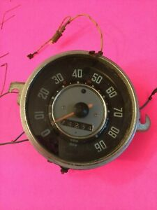 1965 Vintage Vw Volkswagon Speedometer Free Shipping