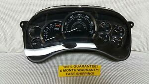 2003 2005 Cadillac Escalade Ext Instrument Cluster 2004 188 000 Miles