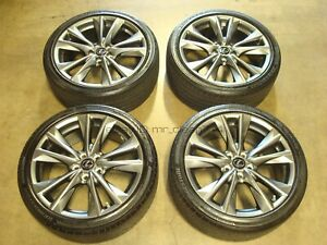 19 2019 20 Lexus Es350 F Sport Wheels Rims Tires Oem Factory Es 350