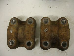 1 Ton 14 Bolt Axle Saddles 73 87 Chevy Gmc Truck Rear Axle C 30 K 30 1