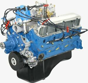 Blueprint Engines Crate Engine Sbf 302 300hp Dressed Model Bp3024ctc