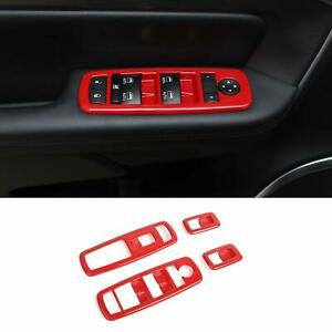 For Charger Window Lift Trim Switch Panel Accessories Trim For Dodge Charger 11