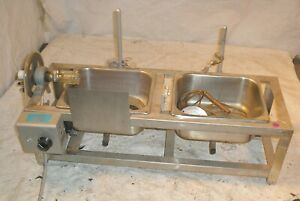 Buchler Instruments Flash Evaporator Unit W Lab Stands Clamps 2 Stainless Tray