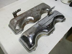 348 409 Chevy Valve Covers Used Orig Gm