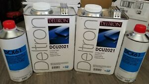 Ppg Concept Dcu2021 2 Gallon Kit With 2 Dcx61 Hardeners Brand New 2019 Sealed