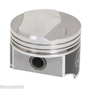 Speed Pro Trw Chevy 402 350hp Forged 14cc Dome Coated Pistons Moly Rings 040