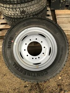 One Continental Hdr 225 70r19 5 Commercial Tire And Rim Ford F550 F450