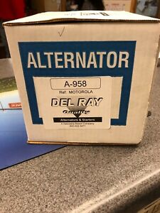Alternator For 3208 Cat