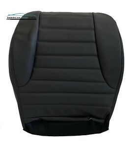 1996 1998 Jeep Grand Cherokee Laredo Driver Bottom Leather Seat Cover Dark Gray