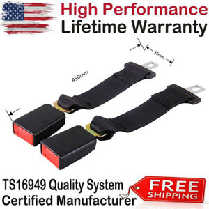 2pcs Buckle Car Seat 14 Safety Extender Belt Extension For Ford Chevy Dodge Gmc