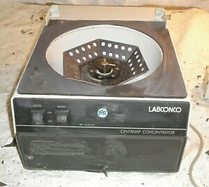 Labconco Centrivap Concentrator 78100 00 With Rotor Missing Lid Parts Only