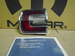 1968 Plymouth Road Runner Left Tail Light Assembly