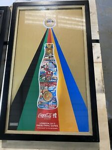 Coca Cola London 2012 Paralympic Frame Limited Edition