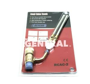 Dual Tubes Hand Torch W Twister Tip Model Rcac 2