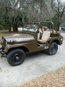 1955 M38 A1 Willys Jeep