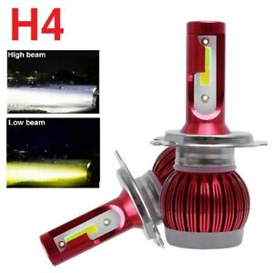 2x Canbus H4 9003 hb2 Led Headlight Kit Hight Low Beams 6000k Csp 120w 32000lm