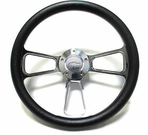 1975 1980 Chevrolet Monte Carlo Billet Black Steering Wheel Adapter Kit