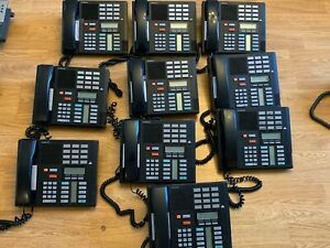 Lot Of 10 Nortel Norstar Meridian M7310 Office Telephone Phones