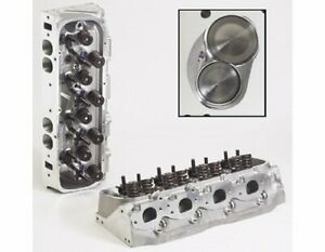 Two 2 Brodix 2061000 Cylinder Head Race Rite Oval Aluminum