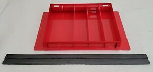 New Weatherguard 615 Red Tool Box Divider Accessory Tray
