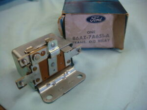 Nos Ford 1956 1959 Edsel Mercury Thunderbird Over Drive Relay B6az 7a651 a
