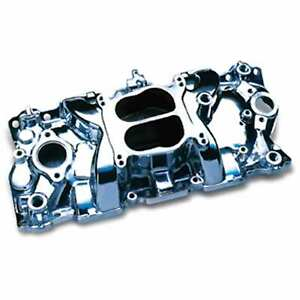 Professional Products 52000 Engine Intake Manifold Polished Cyclone 57 95 Sbc Du
