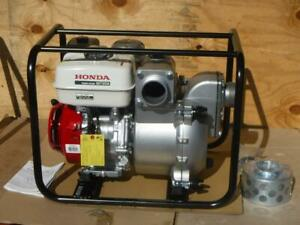 New Honda Wt30xk4a 3 Discharge Heavy Duty Gas Powered Water Trash Pump