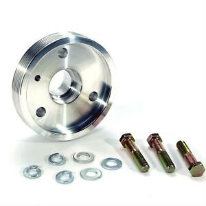 Bbk 1591 Pulley Serpentine Aluminum Polished Chevy Small Block Each
