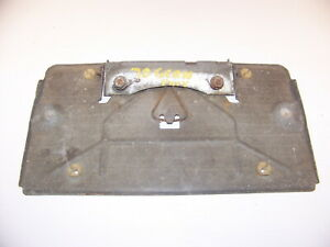 1970 Plymouth Gran Coupe License Plate Holder Bracket Oem Sport Fury