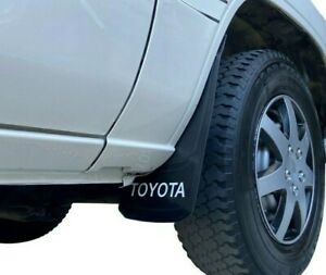 Universal Toyota Mud Flaps Style Splash Guards With Letters 2pcs New