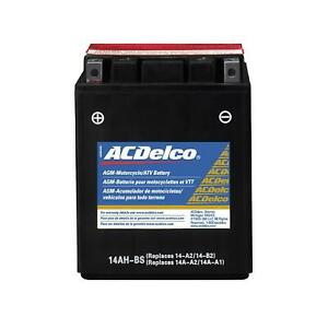 Acdelco Atx14ahbs Battery Powersports Agm 12 Volt 190 Cca Power