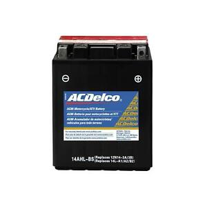 Acdelco Atx14ahlbs Battery Powersports Agm 12 Volt 190 Cca Power