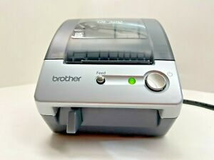 Brother P touch Ql 500 Manual cut Pc Label Printing System W Free Label Roll