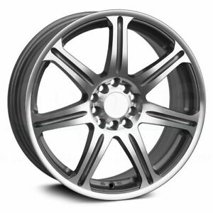 16x7 Silver Machined Wheels Xxr 533 5x100 5x114 3 38 set Of 4