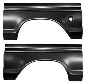 Wheel Arch Quarter For 73 76 Ford F100 F150 Pickup Truck F250 Super Duty Pair