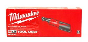 Ma5 Milwaukee 2456 20 M12 Cordless 1 4 Ratchet Tool Only