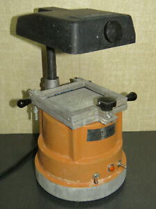 Patterson Dental Company Model 101 Thermoplastic 115v 720w Vacuum Forming Unit