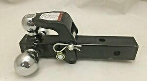 Buyers Chrome Tri ball Trailer Hitch Mount 1802279 F7