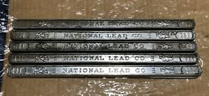 Lot Of 5 50 50 Solder Bars Lead tin 111 National Lead Co