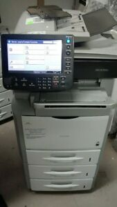 Ricoh Sp5210sf Office Copier Network Printer Scanner Fax 52ppm Fast B