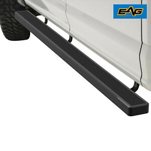 Black Aluminum 5 Running Board Brackets For 02 16 Avalanche 05 15 Suburban