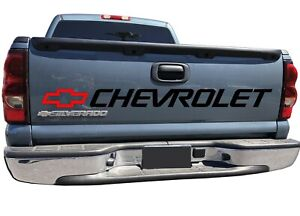 Silverado Bed Window Vinyl Decal Chevy 454 1500 Ss Graphics Chevy Bow