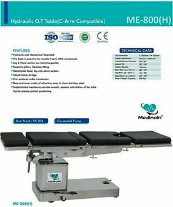 C arm Compatible Hydraulic Operation Theater Table Operating Surgical Me 800 H
