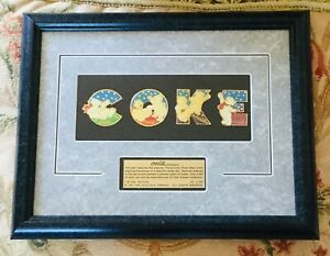 1997 COKE/ Coca-Cola Limited Edition Framed Polar Bears Cubs Collection Pin Set