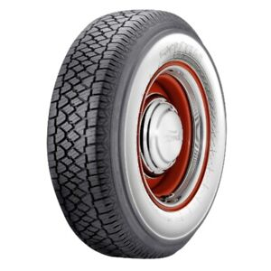 Super Cushion Classic 2 3 4 Wide White Wall Radial Tire P215 70r15 Goodyear