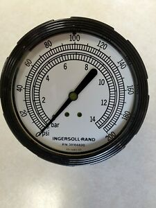 New Ingersoll Rand Oem P n 39166830 Gauge Pressure Brand New Old Stock Part